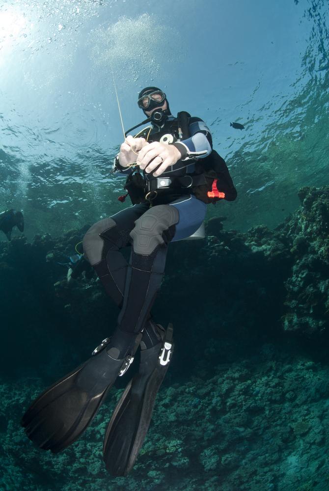 Master Scuba Diver Liamis Dive Centre