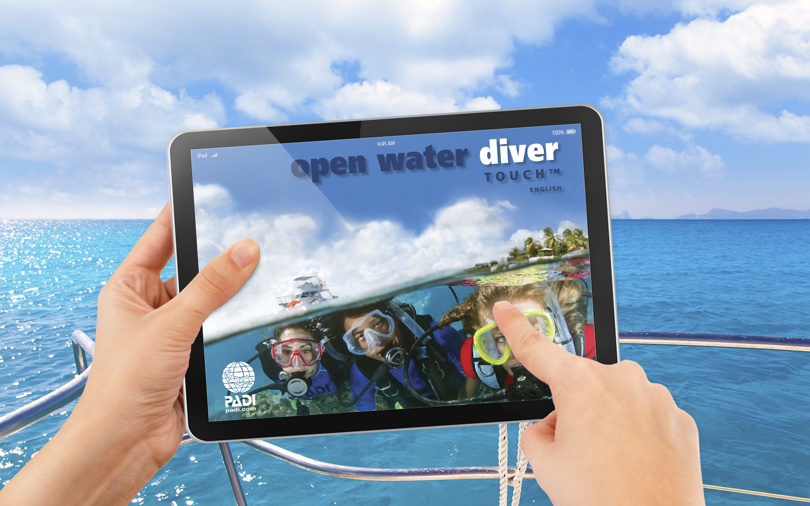 Padi Open Water Diver Certification Pak Touch Liamis Dive Centre